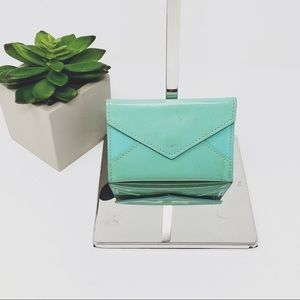 Tiffany & Co Patent Leather Card Case Wallet